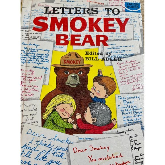 VINTAGE Letters to Smokey Bear Book 1966